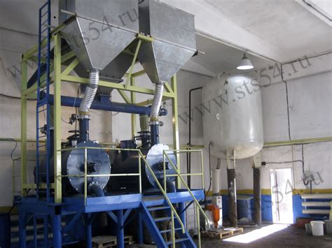 concrete rubber sts automated line for polystyrene concrete blocks siberian