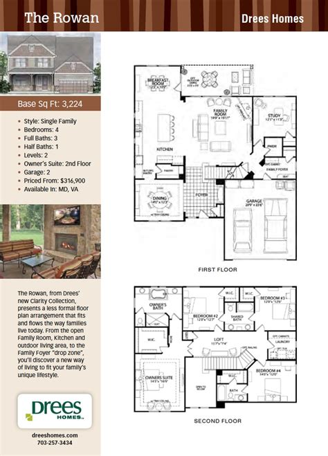 drees homes chadwick floor plan home design and style