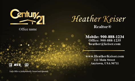 century 21 business card template custom card template 187 century 21 business cards template