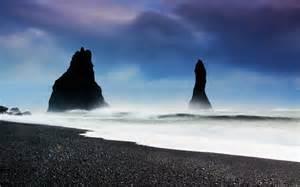 black sand beach vik iceland the beauty of travel