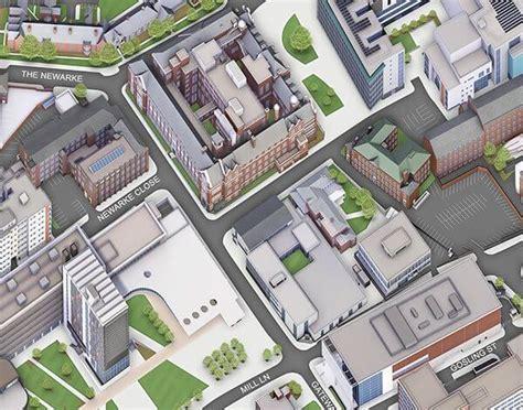 Mba Housing De Montfort by De Montfort Leicester Uk