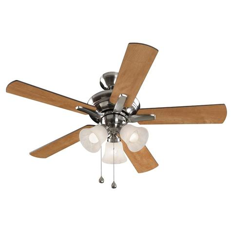 32 ceiling fan with light shop harbor 32 pack lansing 42 in brushed nickel