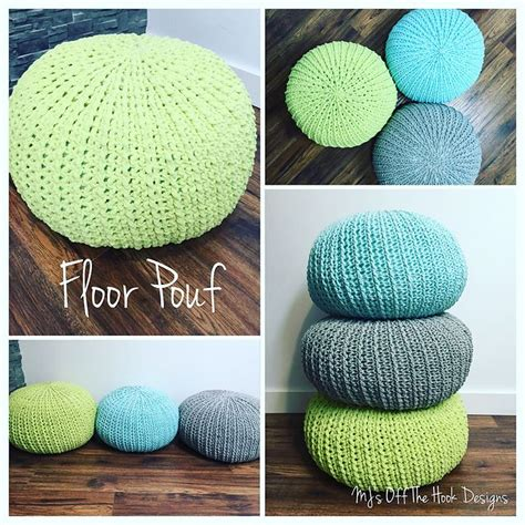 crochet ottoman pattern crochet floor pouf and ottoman free patterns floor pouf