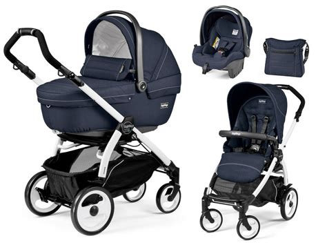Peg Perego by Peg Perego Set De Poussette Book 51 Modular Set Xl Blanc