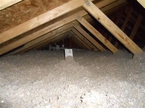 blown in insulation in attic dr energy saver st louis attic insulation photo album blown in attic insulation in