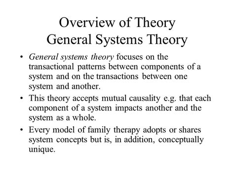 general pattern theory step six of the decision tree chapter 14 family therapy