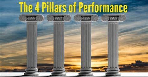 the pillars of the the 4 pillars of performance total vocal freedom