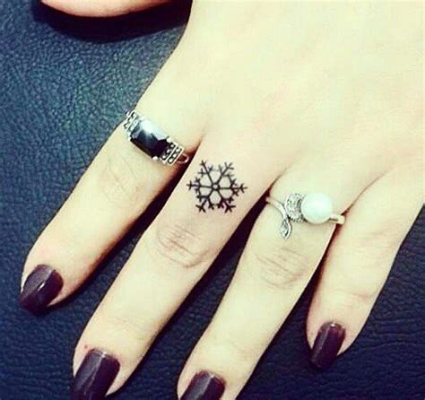 21 gorgeous snowflake tattoos to inspire your ink blue fade