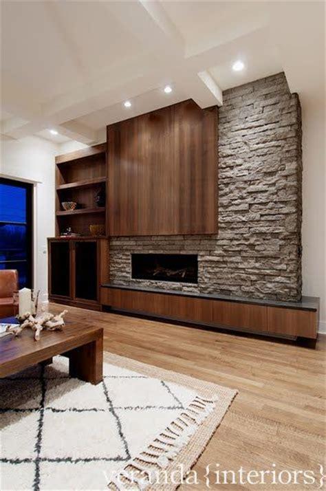 Asymmetrical Fireplace by An Asymmetrical Fireplace Wall Transitional Decor