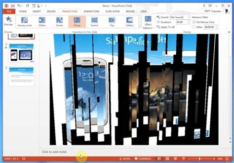 powerpoint tutorial transitions best powerpoint transition effects for disaster planning