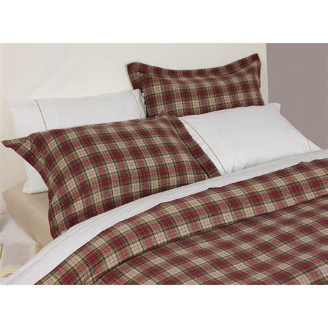 Plaid Comforter Cover by Tartan Bedding Martha Stewart Collection Sleigh Ride