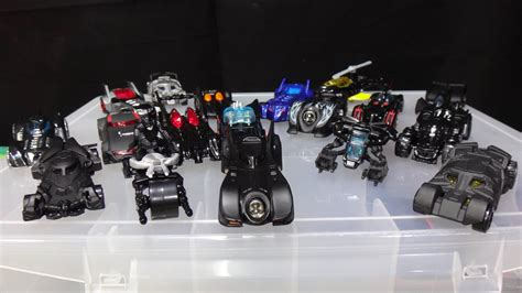 Hot Wheels Batman Batmobile Collection Update   YouTube