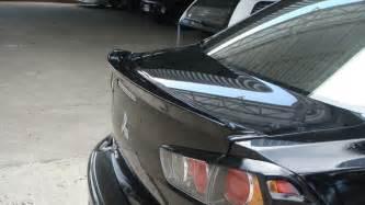 Mitsubishi Lancer Rear Spoiler Rear Spoiler For Mitsubishi Lancer Ex 2009 2013 Ebay