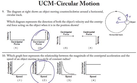 Physics 12 Circular Motion Worksheet 2 Answers