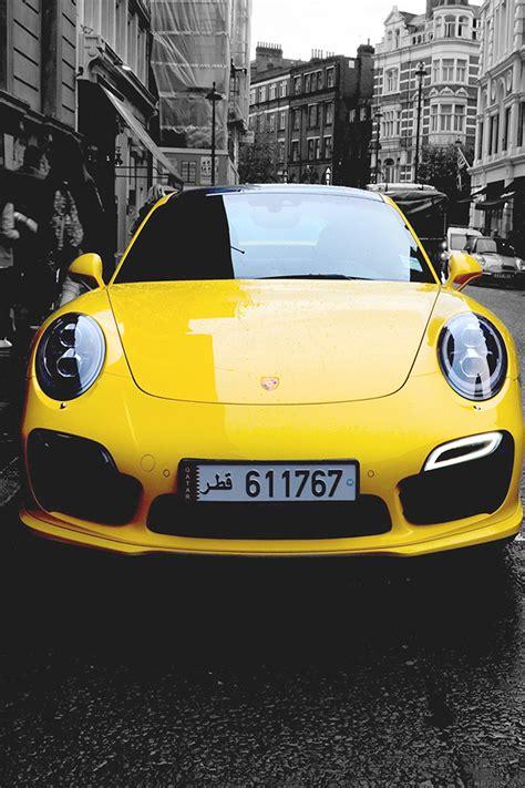 Car Wallpaper Apps Faces by Freeios7 Mk71 Porche Car City Bw Yellow