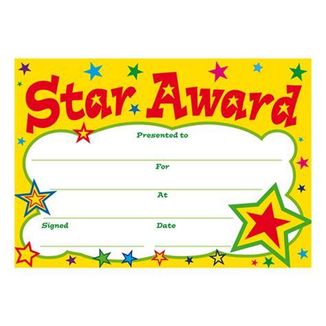28 certificate star award certificate template