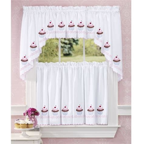 Cupcake Kitchen Curtains Home Design Ideas