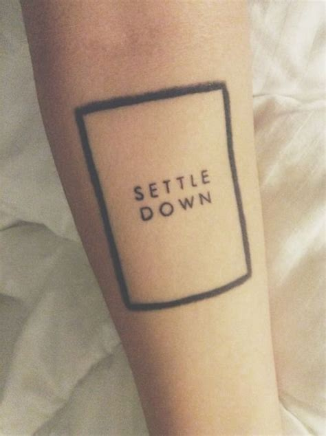 the 1975 tattoo settle the 1975 tattie