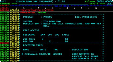section in cobol sle programs for cobol db2 free download programs