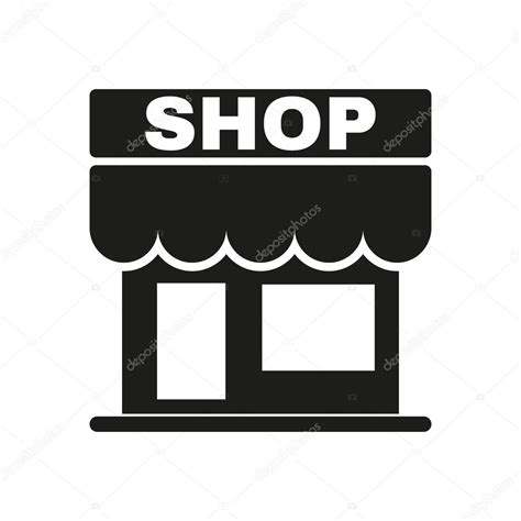 werkstatt symbol the shop icon store symbol flat stock vector 169 vladvm