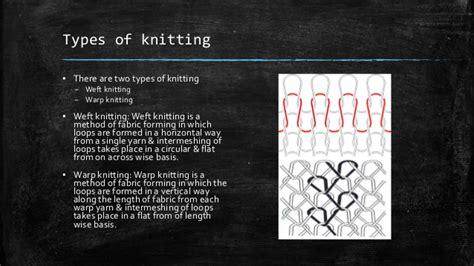 types of warp knitting presentation on weft knitting machine single jersey rib
