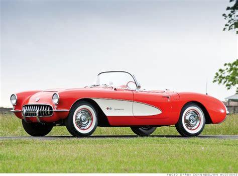 most expensive corvettes 1957 chevrolet corvette quot fuelie quot 10 most valuable