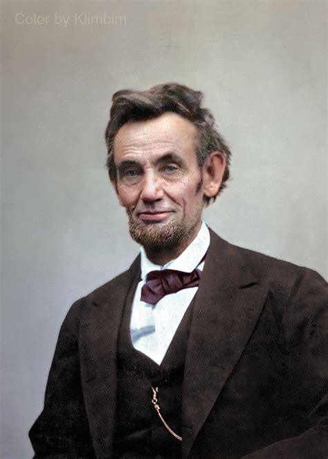abraham lincoln in color pics