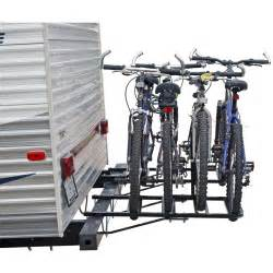Bike Racks For Rvs by 2 4 Bike Rv Travel Trailer Bumper Mount Bicycle Rack