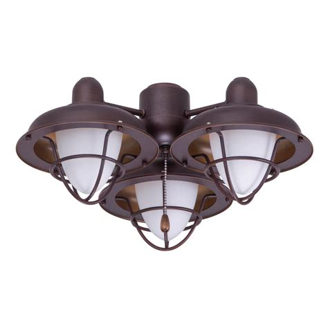 home depot emerson ceiling fans emerson boardwalk cage 3 light venetian bronze ceiling fan