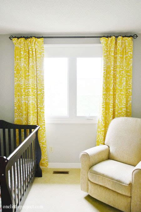 Yellow And Gray Nursery Curtains Www Pixshark Com Yellow And Grey Nursery Curtains