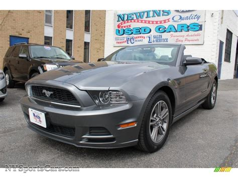2013 mustang convertible for sale 2013 ford mustang v6 premium convertible in sterling gray