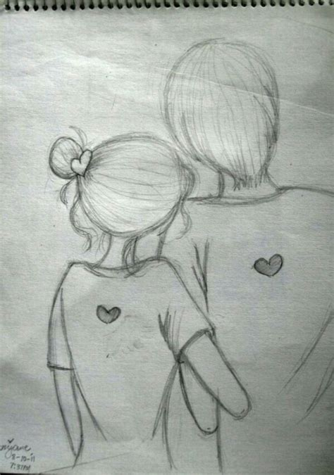 imagenes a lapiz romanticos dibujos bonitos de amor dibujos rom 225 nticos para pintar