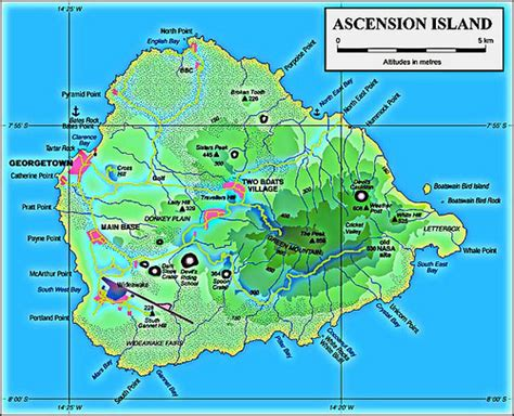 ascension island map ascension island map flickr photo