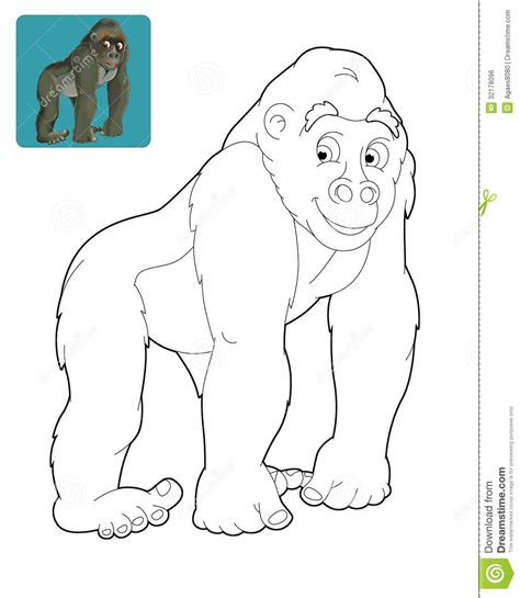 safari person coloring page cartoon safari coloring page for the children royalty