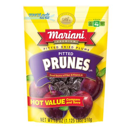 Mariani Pitted Dried Prunes 283g mariani premium pitted dried prunes 18 oz walmart