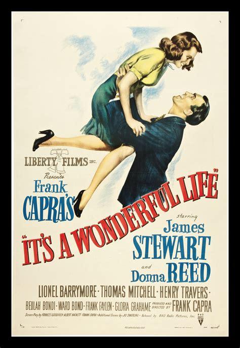 printable movie poster its a wonderful life cinemasterpieces original movie