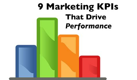 9 marketing kpis that drive marketing performance
