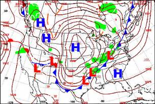 barometric pressure map america nws jetstream air pressure