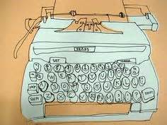 typewriter doodle god wiki a lovely 1950s illustrated typewriter ad brought to you