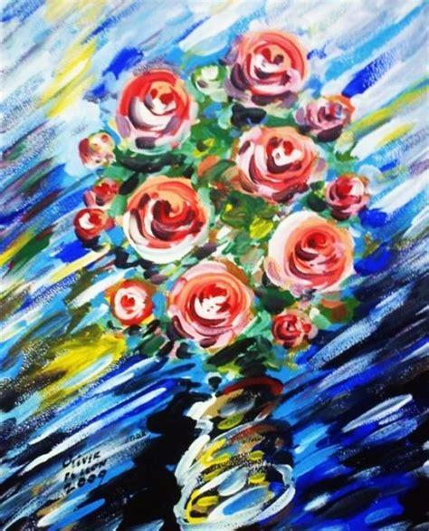 imagenes de rosas alegres obra de arte flores alegres 1 artistas y arte