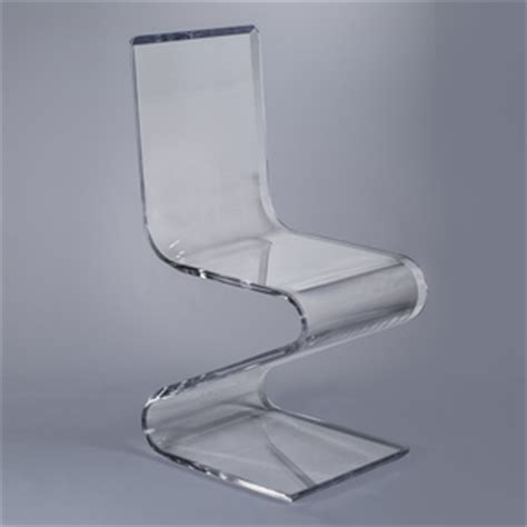 Glass Chairs by Lucite Acrylic Glass Chairs Benches By Plexi Craft