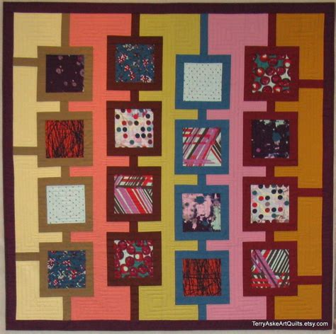 Modern Quilt Wall Hanging by Modern Quilt Wall Hanging Frames 46 5 X 46 5 Inches