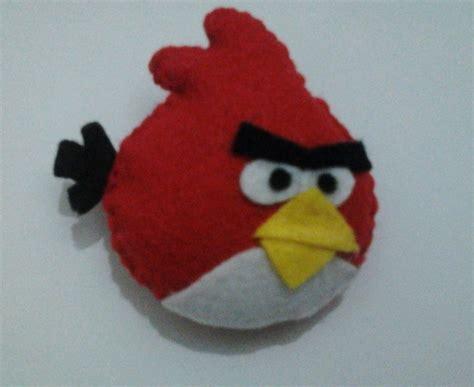 angry bird felt doll  bird plushie sewing  cut