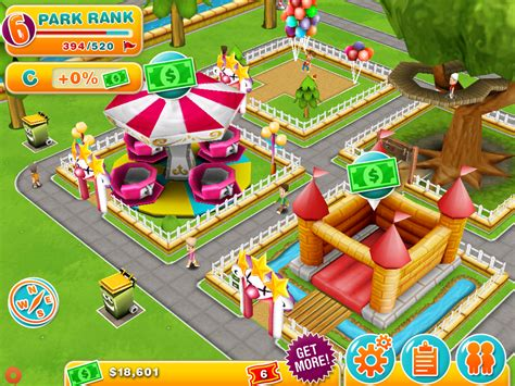 theme park game online theme park on ios is an expensive slow moving experience
