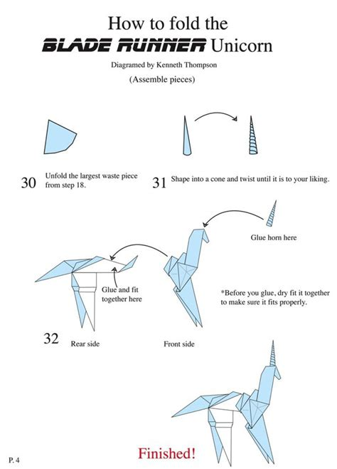 How To Make An Origami Unicorn - origami mauro diagrammi modelli ospiti origami