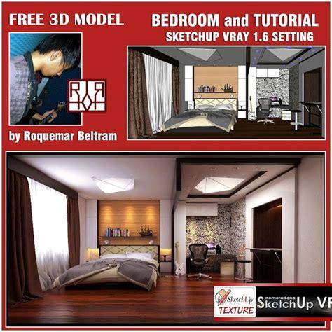 vray tutorial for sketchup free download sketchup texture su bedroom model vray 1 6 beta tutorial