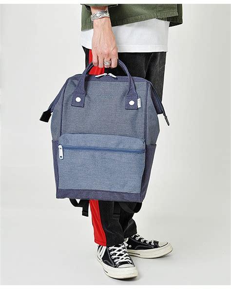 Tas Ransel Back Pack Brand Marka Vakansi Green anello mottled polyester classic backpack regular size at b2261