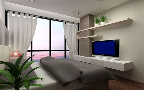 design bedroom with tv design and build projects in singapore malaysia vietnam