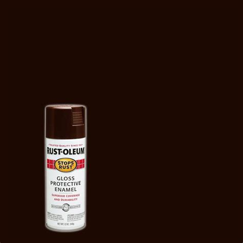 rust oleum stops rust 12 oz protective enamel gloss sunburst yellow spray paint 7747830 the