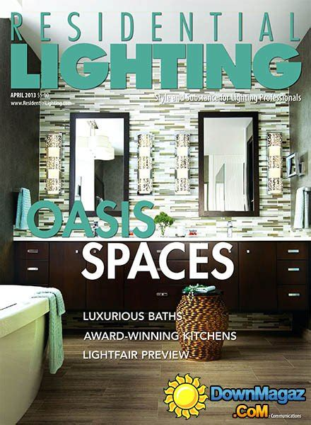 home lighting design magazine residential lighting april 2013 187 download pdf magazines